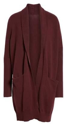 Treasure & Bond Rib Knit Detail Cardigan