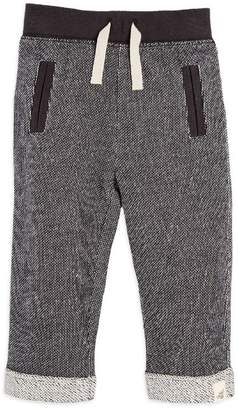 Burt's Bees Loose Pique Rolled Cuff Organic Baby Boys Pant