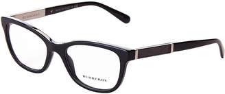 Burberry B 2232 Black Plastic Square Cateye Optical Frames