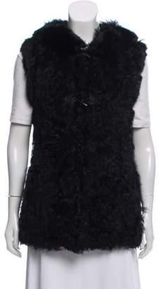 Jocelyn Mongolian Lamb Fur Vest
