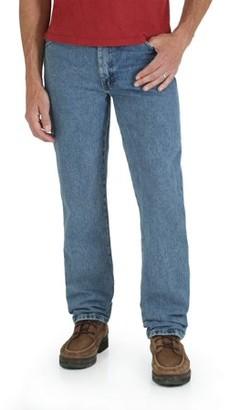 Rustler Big Men's Regular Fit Straight-Leg Jeans