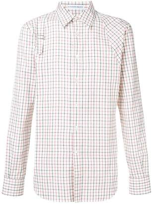 Alexander McQueen check print shirt