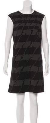 MICHAEL Michael Kors Houndstooth Mini Dress