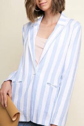 Umgee USA Blue Stripped Blazer