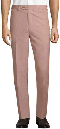Brooks Brothers Flat Front Wool-Blend Trouser