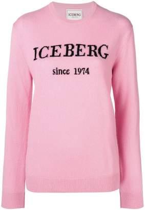 Iceberg cashmere logo sweater