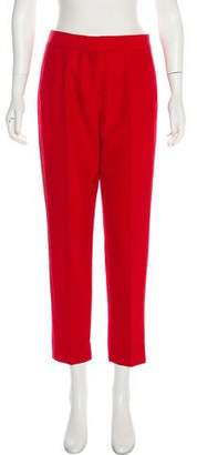 Tara Jarmon High-Rise Straight-Leg Pants