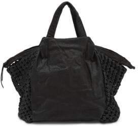Liebeskind Berlin Noda Leather Double Top handles Bag