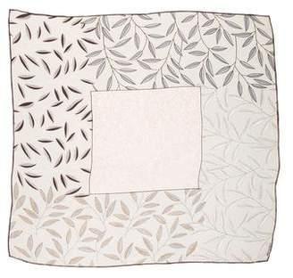 Halston Silk Print Scarf