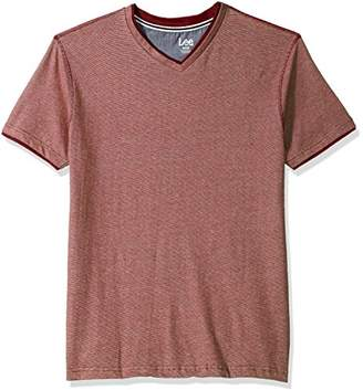 Lee Men's Short Sleeve Super Soft V-Neck