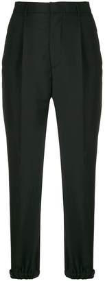Prada high waist tapered trousers