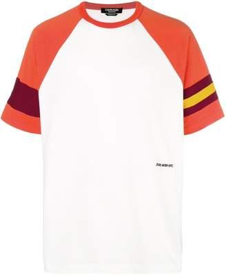 Calvin Klein stripe detail raglan T-shirt