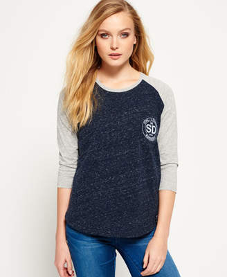 Superdry Athletic League Raglan Top