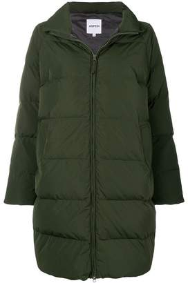 Aspesi zipped oversized padded coat