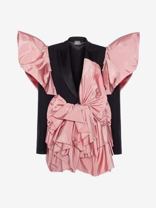 Alexander McQueen Butterfly Drape Jacket