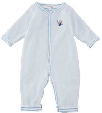 Kissy Kissy Fall Sports Reversible Pima Coverall, Size 3-18 Months