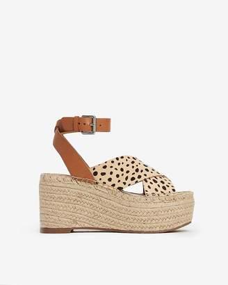e465e14f69b Express Dolce Vita Leopard Carsie Wedge Sandals
