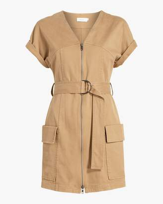 A.L.C. Bellamy Zip Mini Dress