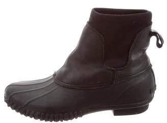 Loeffler Randall Shearling-Lined Rubber Boots