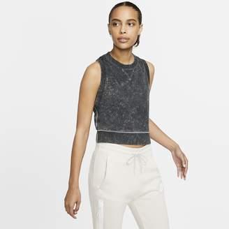 Nike Women's Cropped French Terry Tank Sportswear