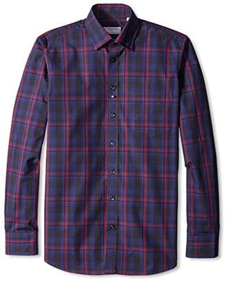 Toscano Firenze Men's Plaid Sportshirt