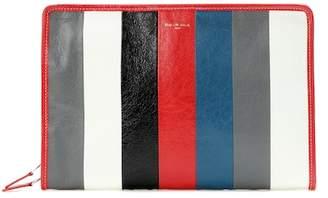 Bazar leather clutch