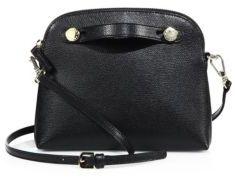 Furla Piper Mini Saffiano Leather Crossbody Bag $208 thestylecure.com