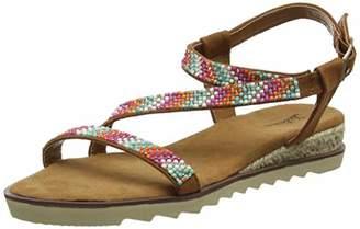 145e38970a4 Joe Browns Womens Diamante Ankle Strap Wedge Sandals