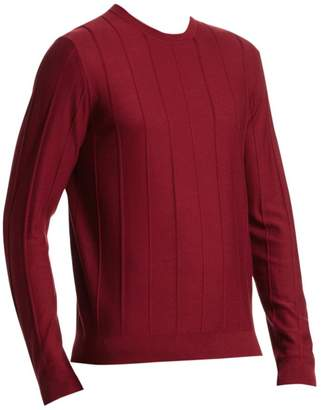 Emporio Armani Vertical Stitch Crew Sweater