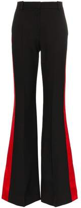 Alexander McQueen military kick-back trousers