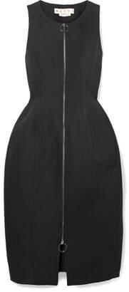 Marni - Cotton-cady Midi Dress - Black