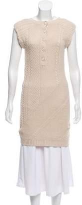 Theory Mini Sweater Dress