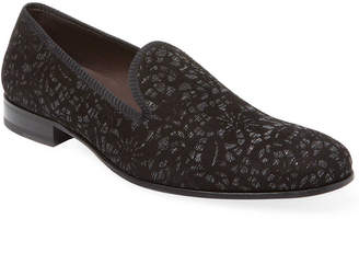Mezlan Solid Printed Loafer