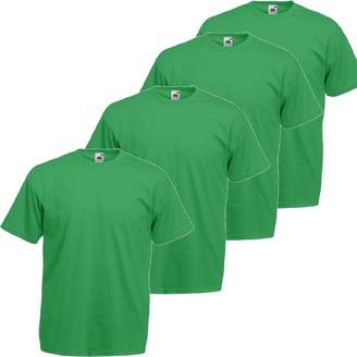 Fruit of the Loom RyteApparel Mens 4 Pack Valueweight T Shirt-tshirt