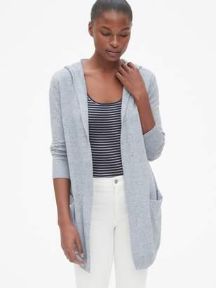 Gap Longline Hooded Cardigan Sweater