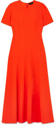 Proenza Schouler Crepe Midi Dress - Bright orange