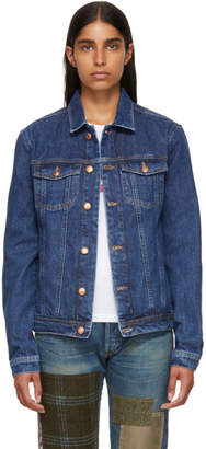 Won Hundred Blue Denim Fourteen Jacket