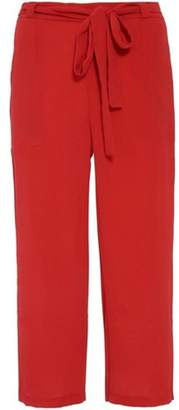 Quiz Womens *Quiz Red Elastic Culottes Trousers