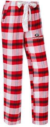 Concepts Sport Women's Georgia Bulldogs Homestretch Flannel Pajama Pants