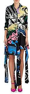 J.W.Anderson WOMEN'S ABSTRACT-PRINT COTTON-SILK SHIRTDRESS