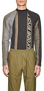 GmbH Men's Rib-Knit Cotton Long-Sleeve T-Shirt