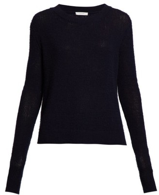 The Row Muriel Cashmere Sweater - Womens - Navy