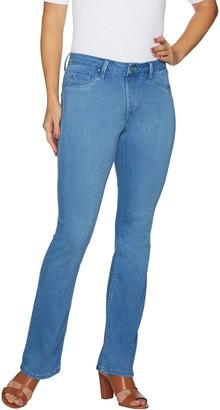 Laurie Felt Petite Silky Denim Boot Cut Pull-On Jeans