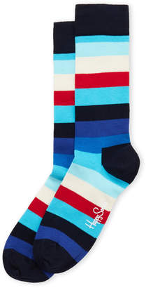 Happy Socks Stripe Crew Socks