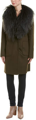 Dawn Levy Cece Wool-Blend Coat
