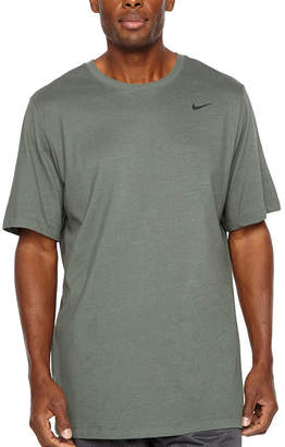91e90854 Nike Mens Crew Neck Short Sleeve Moisture Wicking T-Shirt-Big and Tall