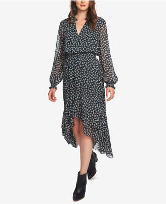 1 STATE 1.state High-Low Flounce Blouson Dress