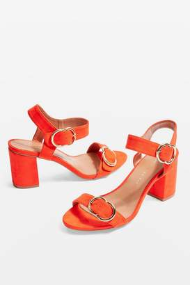 Topshop WIDE FIT SAMBA Two Part Sandals