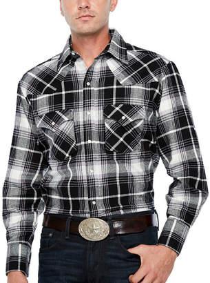 Ely Cattleman Brawny Flannel Snap - Big & Tall