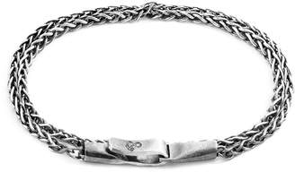 Anchor And Crew Staysail Double Sail Chain Bracelet